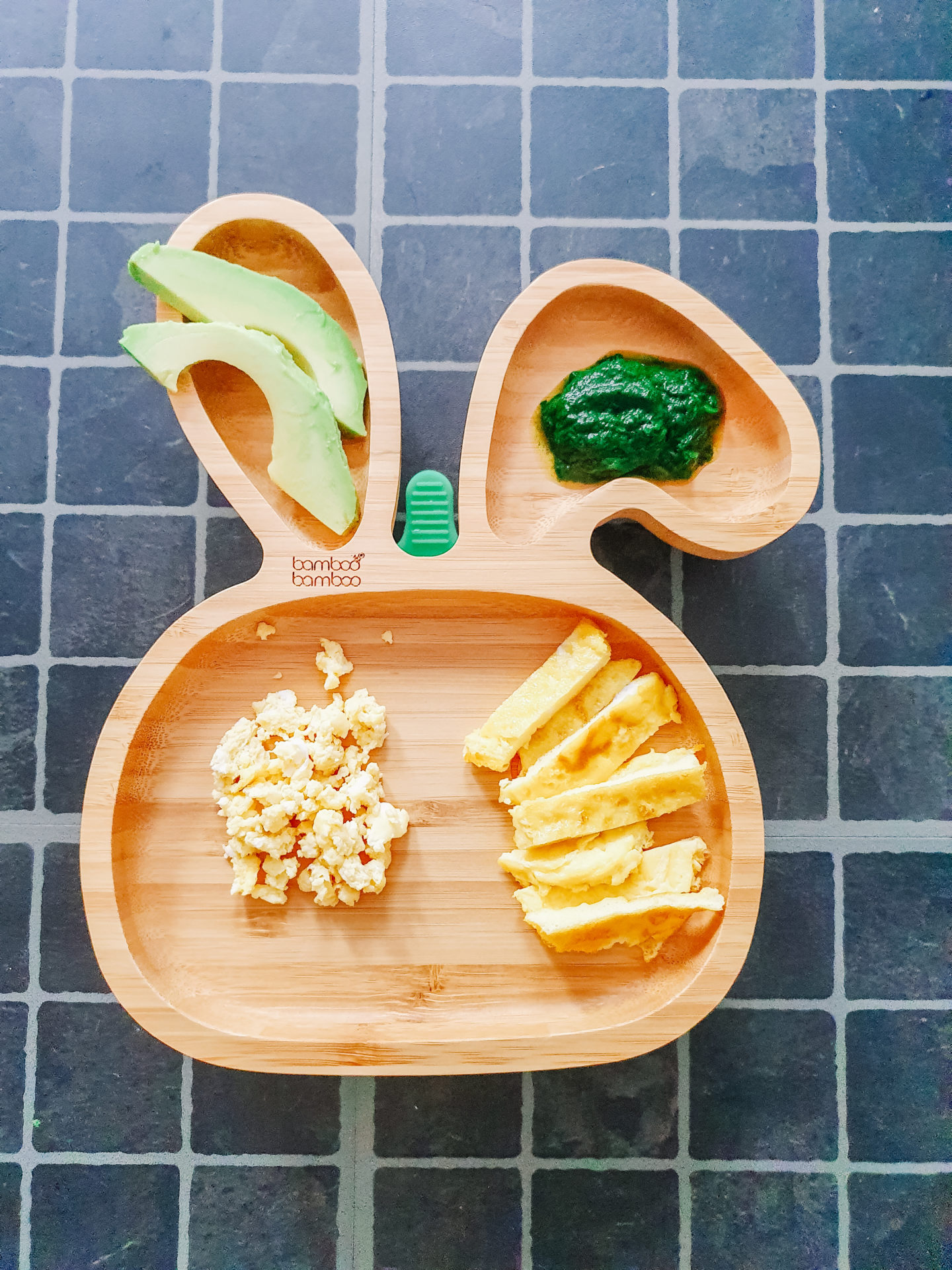 Baby lunch plate