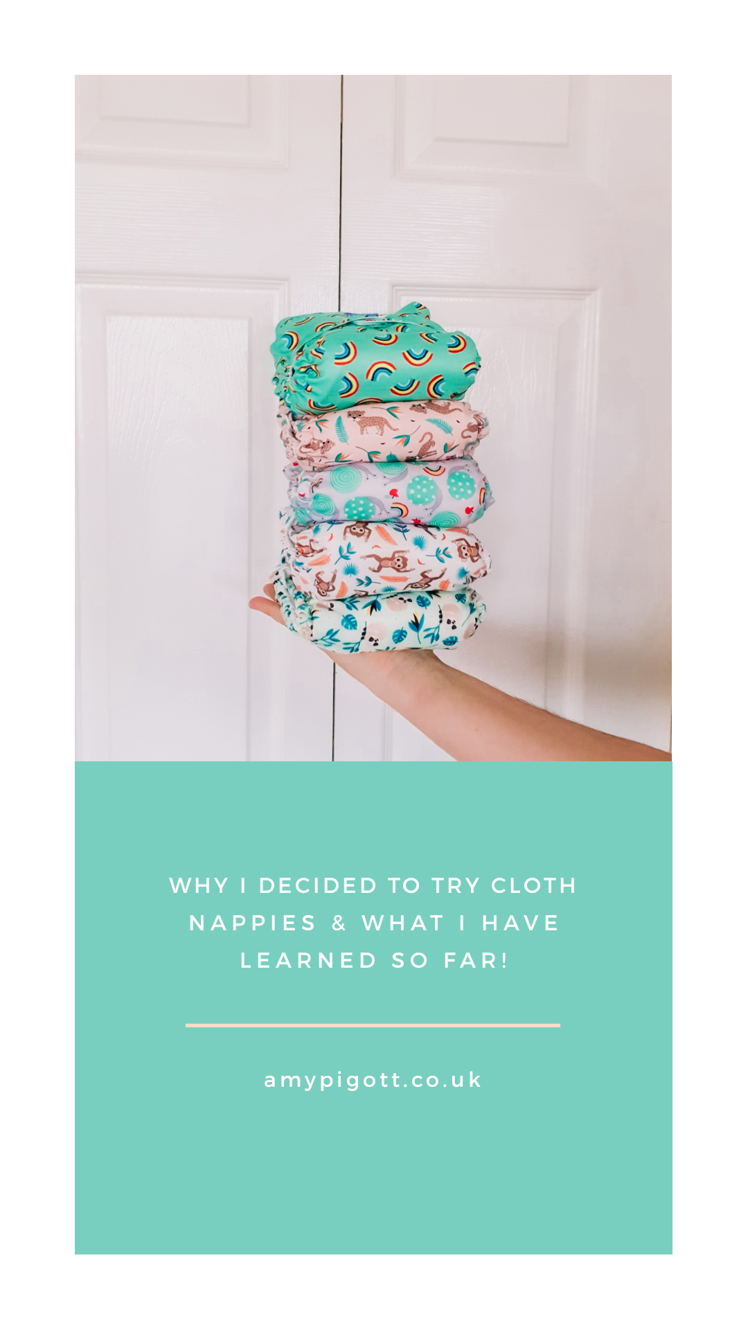 stack of cloth nappies